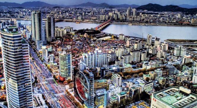 दक्षिण कोरिया द्धारा देश व्यापी निषेधाज्ञा जारी