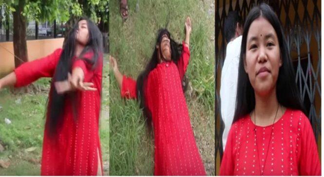 १९ बर्षिया युवाती मन्दिर नखुले अनिष्ट हुन्छ भन्दै यसरी ढलिन् (भिडियो सहित)